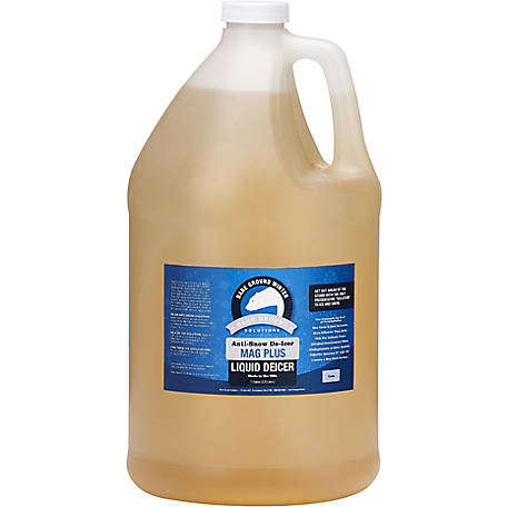 Bare Ground Winter Mag Plus Liquid De-Icer, 1 gal. Bottle, BGS-1