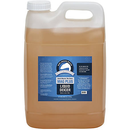 Bare Ground Winter Mag Plus Liquid De-Icer, 2.5 gal. Pail, BG-2.5P