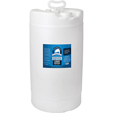 Bare Ground Winter Mag Plus Liquid De-Icer, 15 gal. Drum, BG-15D