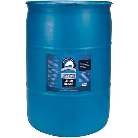 Bare Ground Winter Mag Plus Liquid De-Icer, 30 gal. Drum, BG-30D