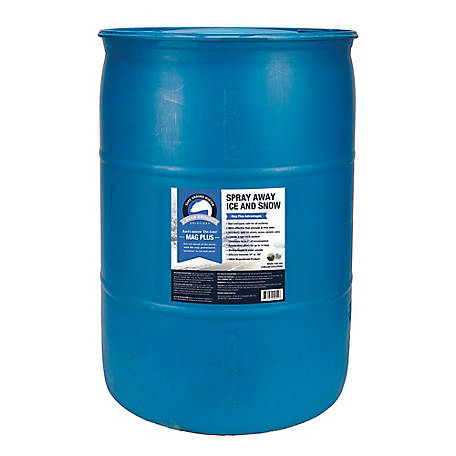 Bare Ground Winter Mag Plus Liquid De-Icer, 55 gal. Drum, BG-55D