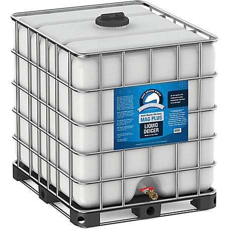 Bare Ground Winter Mag Plus Liquid De-Icer, 275 gal. Palletized Tote, BG-275T