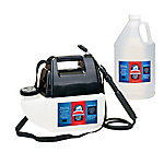 Bare Ground Winter Battery-Powered Sprayer with 1 gal. Bare Ground Bolt Calcium Chloride Liquid De-Icer