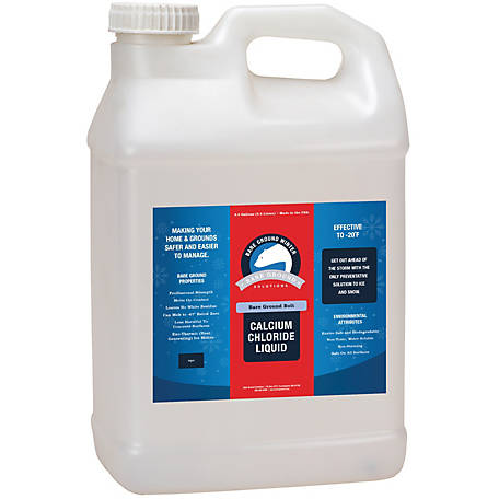 Bare Ground Winter Bolt Liquid Calcium Chloride, 2.5 gal., BGB-2.5C