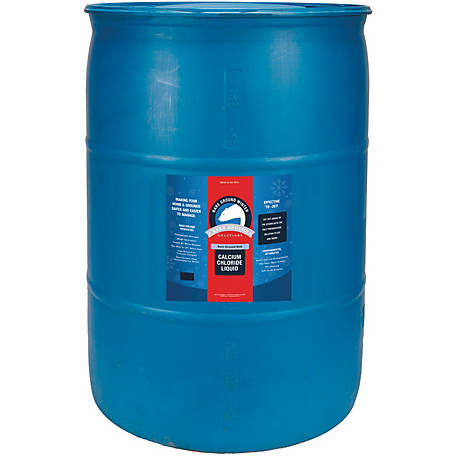 Bare Ground Winter Bolt Liquid Calcium Chloride, 55 gal. Drum, BGB-55DC