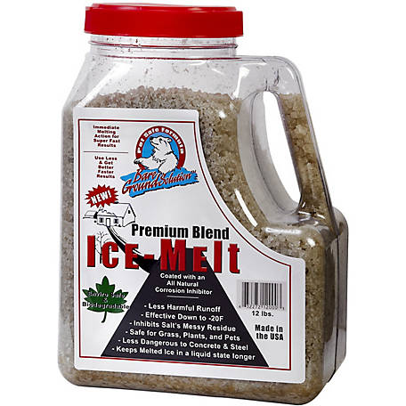 Bare Ground Winter Coated Granular Ice Melt, 12 lb. Jug, BGSJ-12