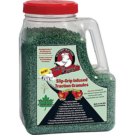 Bare Ground Winter SlipGrip infused Traction Granules, 5 lb. Jug, SLGP-5