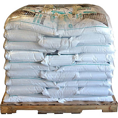 Bare Ground Winter Tri-Blend Coated Granular Ice Melt with Calcium Chloride Pellets, 50 lb. Bag, Pallet of 45, BGCSCA-50P