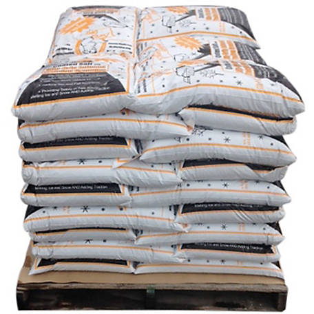 Bare Ground Winter Coated Granular Ice Melt with Infused Traction Granules, 50 lb. Bag, Pallet of 45, CSSLGP-50P