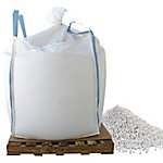 Bare Ground Winter Calcium Chloride Pellets, 1000 lb. Skidded Supersack