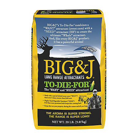 Big & J To-Die-For Attractant, BB2-TDF20
