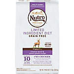 Nutro Limited Ingredient Diet Venison & Sweet Potato Recipe Adult Dry Dog Food, 22 lb.