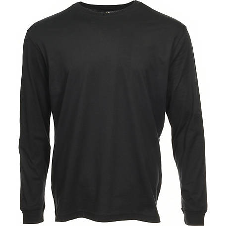 Blue Mountain Men's Long Sleeve Tee YMK-1072