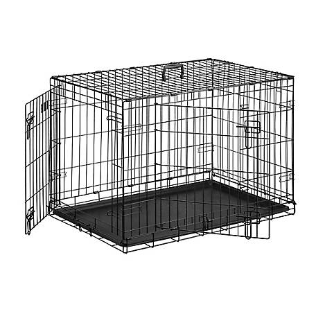 Retriever 2-Door Dog Wire Crate, 24DD