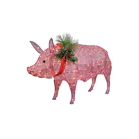 - Red Shed Light Up Pig Christmas Lawn Ornament At Tractor Supply Co.