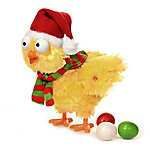 Gemmy Animated Plush Holiday Egg Laying Chicken