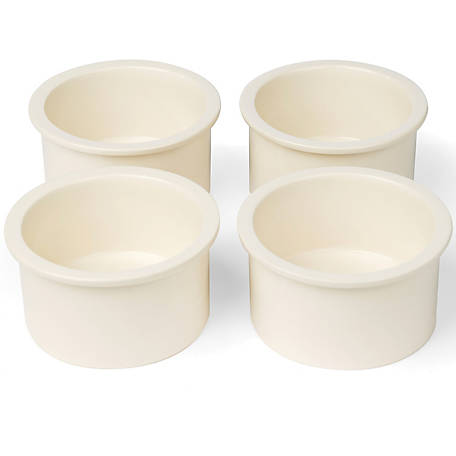 Prevue Pet Products Ceramic Bowl Replacement Cup Set, Pack of 4
