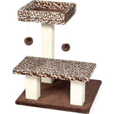 Buy Prevue Pet Products Kitty Power Paws Leopard Terrace 7300 Online
