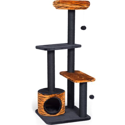 Buy Prevue Pet Products Kitty Power Paws Tiger Tower 7303 Online