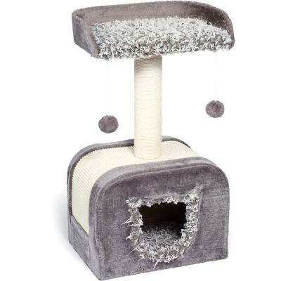 Buy Prevue Pet Products Kitty Power Paws Shag Hideaway 7304 Online
