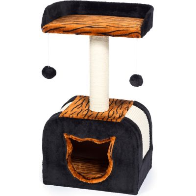 Buy Prevue Pet Products Kitty Power Paws Tiger Hideaway 7305 Online
