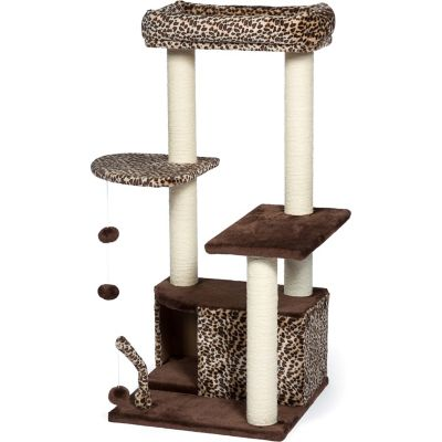 Buy Prevue Pet Products Kitty Power Paws Leopard Lounge 7306 Online