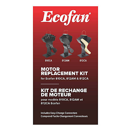 Ecofan Motor Replacement Kit, Ecofan Model 810 & 812