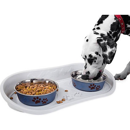 Petmaker Non-Skid Pet Bowl Tray