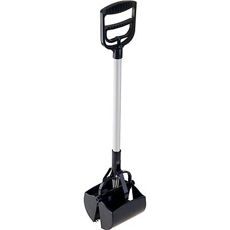 Petmaker Portable Heavy-Duty Spring Load Action Jumbo Pooper Scooper
