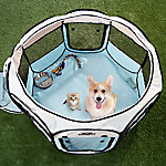 Petmaker Portable Pop-Up Pet Play Pen with Carrying Bag