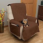 Petmaker 100% Waterproof Furniture Cover for Chair, Brown
