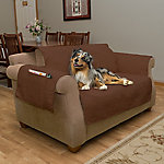 Petmaker 100% Waterproof Furniture Cover for Love Seat, Brown