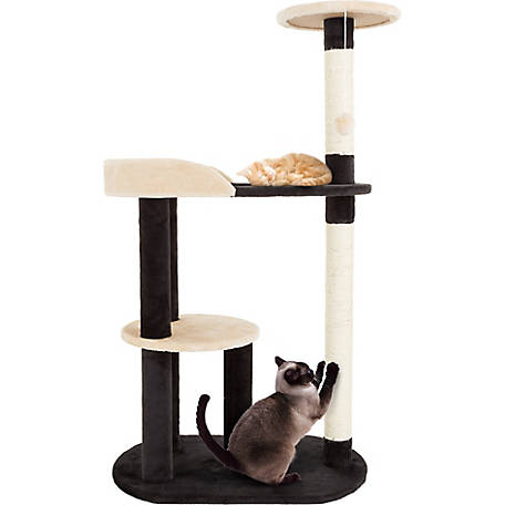 Petmaker 3-Tier Sleep and Play Cat Tree, 42.25 in. H