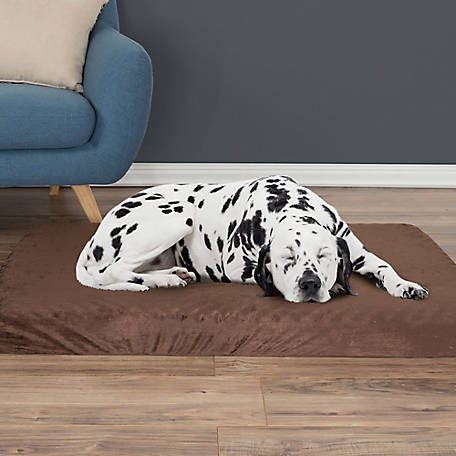 Petmaker Orthopedic Pet Bed with Egg Crate and Memory Foam with Washable Cover