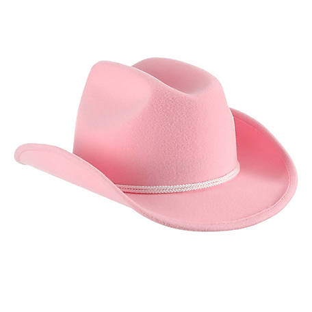 Milano Polyester Western Hat with Chin Cord