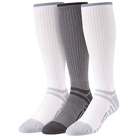 Blue Mountain Over the Calf Socks, 3 Pack
