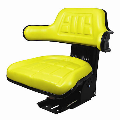 CountyLine Universal Adjustable Seat Yellow, 510000YE-CNL