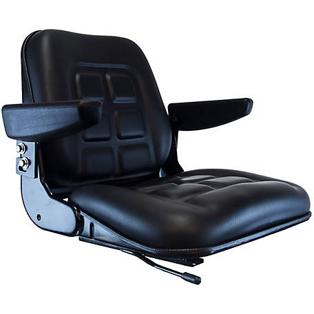 CountyLine Universal Fold Down Seat Black, 355000BK-CNL