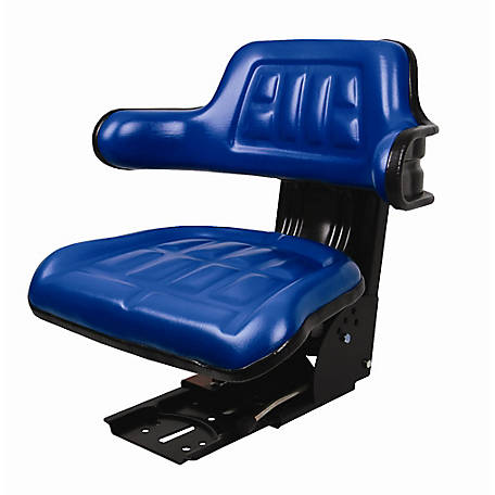 CountyLine Universal Adjustable Seat Blue, 510000BL-CNL