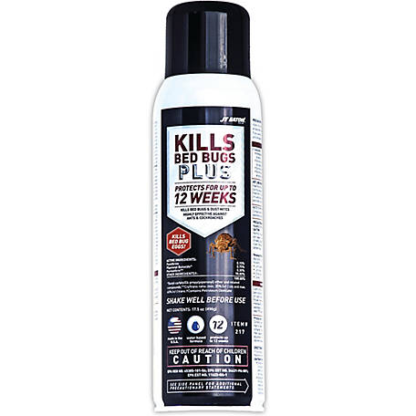 J.T. Eaton Kills Bedbugs PLUS Aerosol Insect Spray, 17.5 oz.