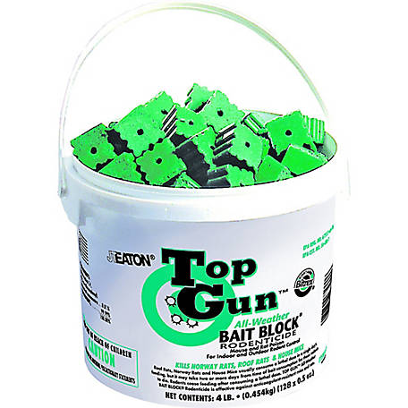 J.T. Eaton Top Gun All-Weather Rodenticide Bait Block