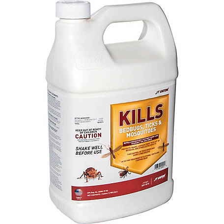 J.T. Eaton Kills Bedbugs, Ticks and Mosquitoes Spray, 1 gal.