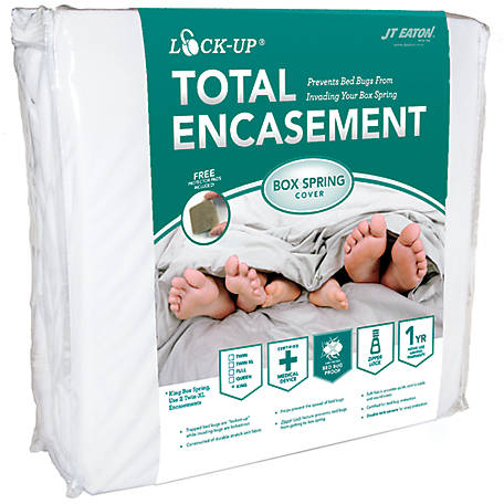 J.T. Eaton Lock-Up Box Spring Encasement, Twin Box