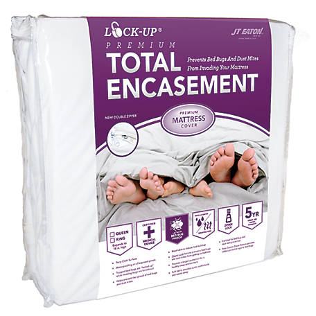 J.T. Eaton Lock-Up Premium Mattress Encasement, Twin