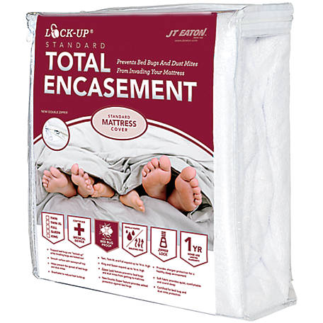 J.T. Eaton Lock-Up Standard Mattress Encasement, California King