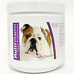 Healthy Breeds Bulldog Multi-Vitamin Soft Chews, Pack of 60
