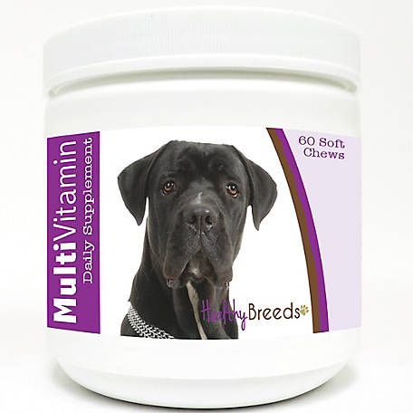 Healthy Breeds Cane Corso Multi-Vitamin Soft Chews, Pack of 60