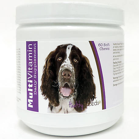 Healthy Breeds English Springer Spaniel Multi-Vitamin Soft Chews, Pack of 60