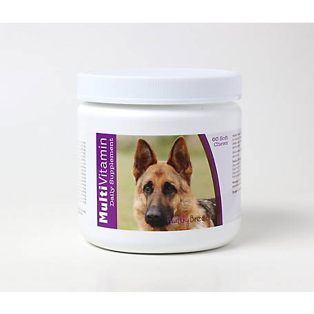Healthy Breeds German Shepherd Multi-Vitamin Soft Chews, Pack of 60