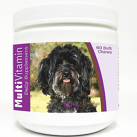 Healthy Breeds Maltipoo Multi-Vitamin Soft Chews, Pack of 60